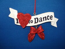 Dance Ornaments - Love to Dance - 98887-65