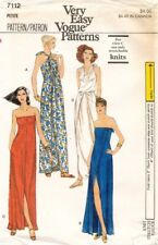 1970's VTG VOGUE Misses' Dress Pattern 7112 Size Petite UNCUT