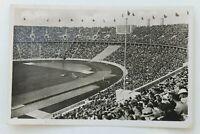 34801 Ak Olimpiada Berlín 1936 Kampfbahn Sellado Llena Estadio Con Besuchern