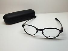 Oakley Overlord Satin Black Frames Rx Titanium Eyeglasses OX5067-0251 W/Case