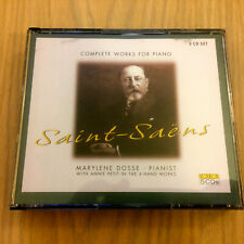 Saint-Saens – Complete Works For Piano (5 x CD Collector's Set 2003)