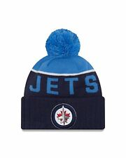 Winnipeg Jets Cap Hat NHL Hockey New Era Beanie Toque OSFM NE 15 Sport Pom