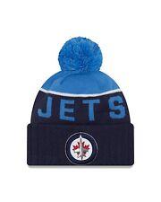 Winnipeg Jets Cap Hat NHL Hockey New Era Beanie Toque OSFM NE 15 Sport Pom