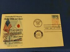 Scott #1158 4 Cent Stamp Honoring The Treaty Of Amity First Day Issue