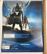 Destiny Become Legend 09.09.14 Greatness Awaits PS4 Magnetic Display Poster/Sign