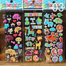 10pcs/Lot Bubble Stickers 3D Cartoon KIds ClassicToys Sticker School Reward OF