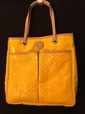 Antonio Melani Large Yellow Purse With Lots Of Pockets, Magnetic Close