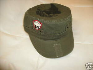 Mossimo Army Military Cuban Green Costume Hat Cap NEW