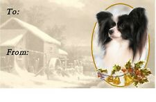 Papillon Christmas Labels by Starprint - No 2