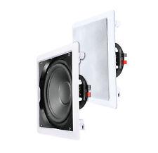 """e-Audio B415A Marine 30cm 12"""" Bass Subwoofer wetterfeste Lautsprecher Feuchtraum"""