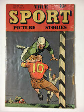 True Sport Picture Stories V4#11 G 1949 Street and Smith Powell