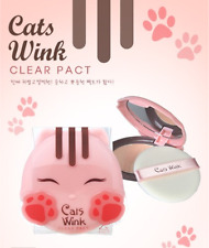 [TONY MOLY] Cats Wink Clear Pact No.2 / for clear beige (11g)