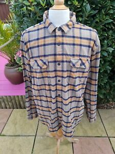 Patagonia Fjord Flannel Check Long Sleeve Shirt XXL