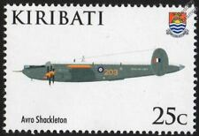 AVRO SHACKLETON Maritime Patrol Aircraft Stamp / 2008 RAF 90th Anniv. (Kiribati)