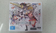 7th Dragon III Code VFD Nintendo 3DS Brand New&Unsealed Australian Stock PAL Ver