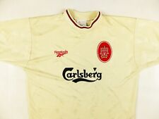 FC LIVERPOOL REEBOK 1996/97 AWAY FOOTBALL SHIRT RETRO VINTAGE SIZE:42/44 (L)