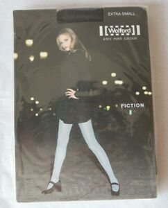 Wolford Fiction Tights Black - Chine XS 8026 141 44