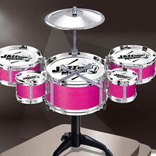 Random Set Mini Jazz Drum DIY Percussion Musical Instrument Kids Fun Toys Gifts