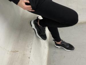 Vincentius Luxury BLACK BOTTOMS PANTS XS - L BRAND NEW