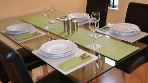 Filz Tischläufer, 30cm breit, Länge + Farbe wählbar, Tischband, MIttelläufer
