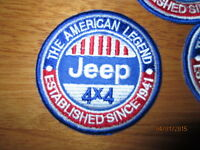 **LOVE IT OR IT'S FREE** 4x4 American Legend patch on Royal Blue Backing, Free