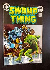 SWAMP THING #6 (DC 1973) -- Berni Wrightson -- F+