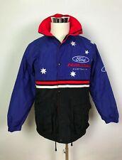 Vintage Ford Racing Australia Mens V8 Supercars Racing Full Zip Jacket Size S