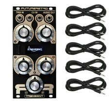 Future Retro Transient Plus Sample-Based Percussion Module Black Cable Kit