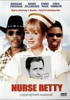 Nurse Betty (DVD, 2003) New,  Renee Zellweger, Morgan Freeman, Chris Rock