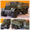 1:25 USSR Soviet Union Kraz-255B Military Truck 3D DIY Handmake Paper Model Gift