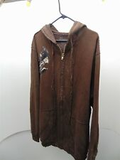 ENRICH Brown 3XT Hoodie Brand New Without Tags