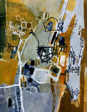 Greg MALLYON Flight Over the Simpson Desert 1 Australian signed fine art print