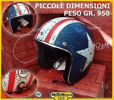 CASCO BHR 711 STAR OPACO PER MOTO CUSTOM HARLEY VESPA VINTAGE TG M 57/58