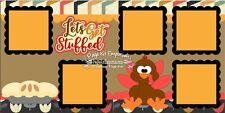 Scrapbook Layout Page Kit Thanksgiving Turkey Stuffed Paper Piece PKEmporium 56