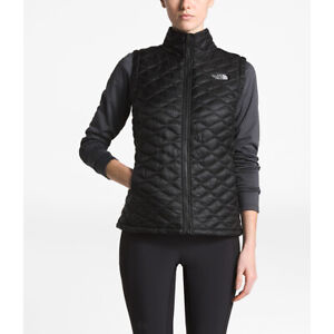 NWT The North Face Women's Thermoball Vest Black Size L,2XL