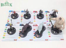 Heroclix Hobbit: An Unexpected Journey set COMPLETE 8-figure Starter Set lot!