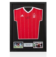 Framed Trevor Francis Signed Nottingham Forest Shirt Autograph Jersey