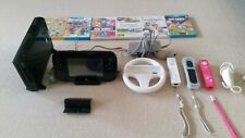 Nintendo Wii U Black 32GB Console With 3 Controllers & 6 Games Bundle