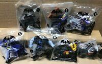 7 SEALED Batman Unlimited McDonalds 2015 Happy Meal toys Joker Solomon Grundy