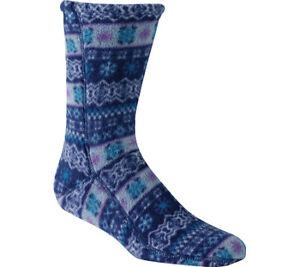Unisex Acorn Versa Fit Socks Icelandic Blue Fleece Size L (10)