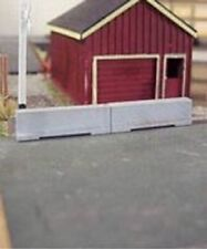 Osborn Models N Gauge * Concrete Barriers * Set of 16 * New Kit #Rra3087