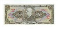 5 Cruzeiros Brasilien 1964 C074b / P.176d -  Brazil Banknote