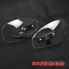 Noir vent protège-mains protecteur pare-brise pour honda shadow moto custom