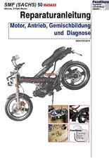 Reparaturanleitung RIS SFM (Sachs) 50 Madass Motor Antrieb Gemischb. + Diagnose