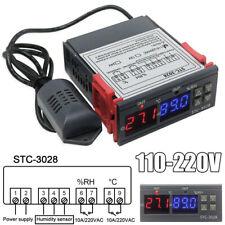10A 220V Digitaler Temperaturregler Feuchtigkeitsregler Thermostat Instrument XS