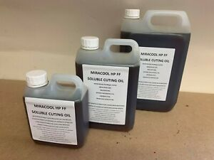 SOLUBLE CUTTING OIL FOR METALWORK CUTTING DRILLING MILLING LATHES 1L 2.5L 5L