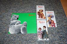 Sigikid  Katalog Plüsch,Puppen, Holz,Marionetten usw+3 Prospekte