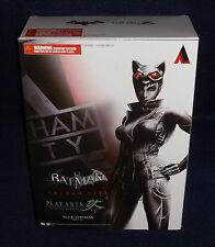 "Arkham City CATWOMAN Play Arts Kai 9"" Figure Square Enix Batman Asylum Knight"