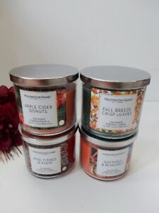 Huntington Home Soy Blend Candle 4 Pack-- Free Shipping