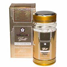 NEW TATIOMAX TATIO ACTIVE GOLD GLUTATHIONE WHITENING GEL CAPSULES - BEST PRICE!!